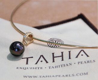 Tahia Exquisite Tahitian Pearls chiffon